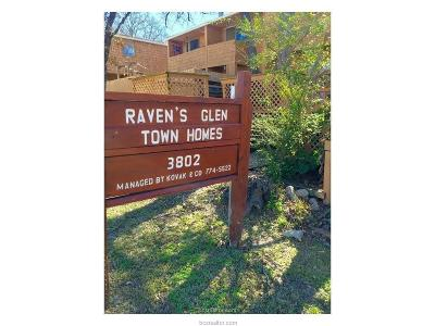 Bryan Condo/Townhouse For Sale: 3802 College Main Street #8