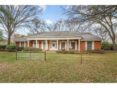 College Station Single Family Home For Sale: 10415 River Road