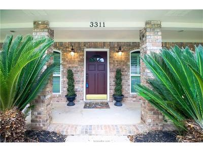 College Station TX Single Family Home For Sale: $342,500
