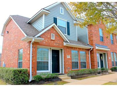 College Station TX Condo/Townhouse For Sale: $178,500
