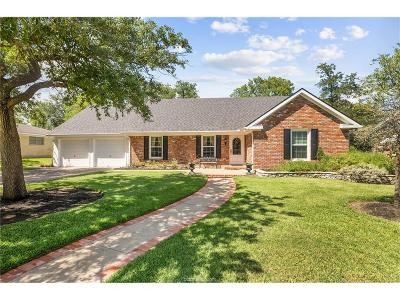 Bryan Single Family Home For Sale: 3502 Parkway Terrace