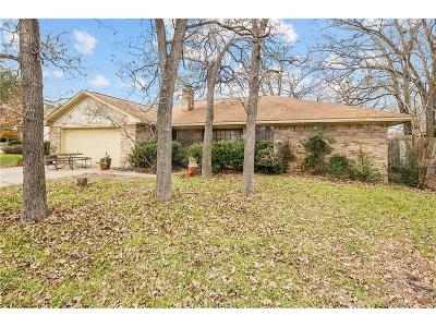 College Station TX Single Family Home For Sale: $185,000