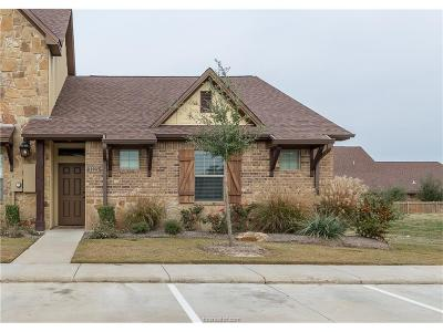 College Station TX Condo/Townhouse For Sale: $217,000