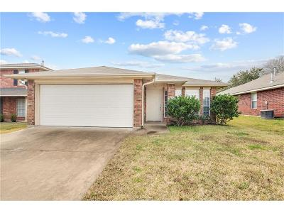 College Station Single Family Home For Sale: 409 Pronghorn