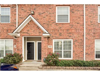 College Station Condo/Townhouse For Sale: 1198 Jones Butler Rd. Road #2603
