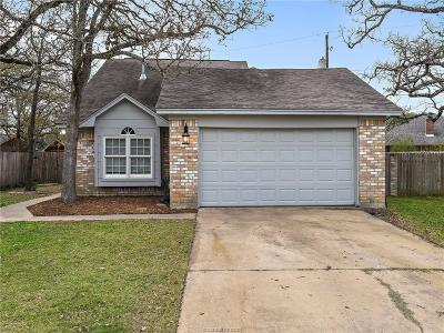 Bryan TX Single Family Home For Sale: $218,900