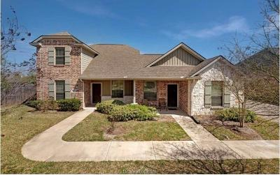 Bryan , College Station Multi Family Home For Sale: 113-115 Kleine Lane