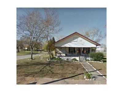 Bryan Single Family Home For Sale: 900 North Washington Avenue