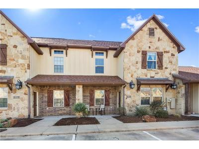 College Station Condo/Townhouse For Sale: 3312 Cullen