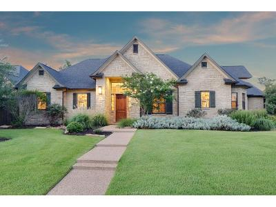 Bryan Single Family Home For Sale: 3236 Pinyon Creek Drive