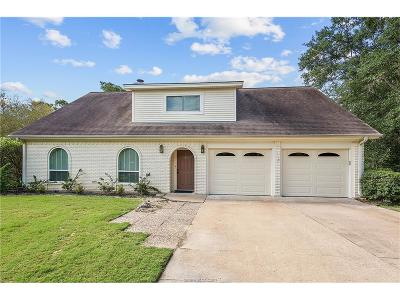 Bryan , College Station Single Family Home For Sale: 912 Pershing Drive