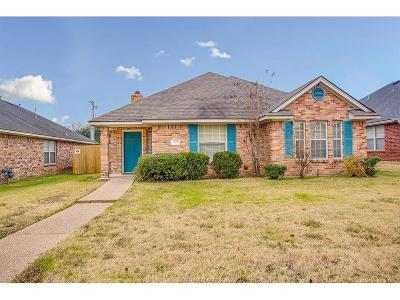 College Station Single Family Home For Sale: 2408 Carnation Court