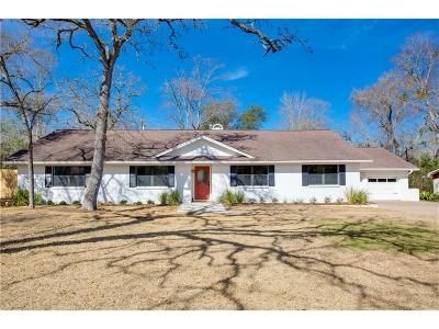 Brazos County Single Family Home For Sale: 1015 Holt Street