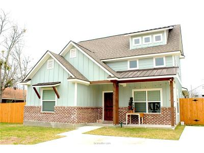 Bryan Single Family Home For Sale: 407 Day Avenue