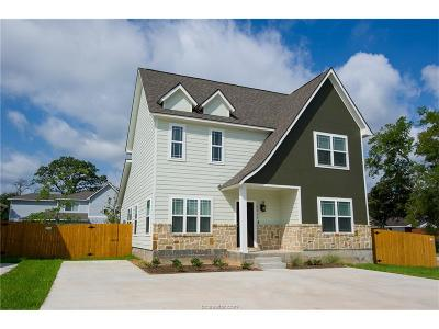 Bryan Single Family Home For Sale: 3200 Link Street