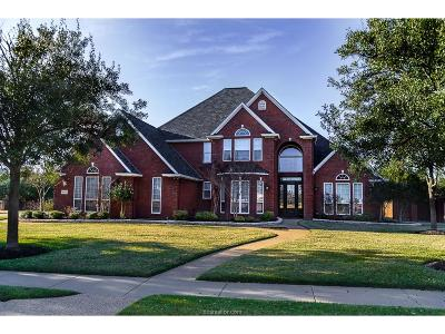 Brazos County Single Family Home For Sale: 4215 Tuscany Court
