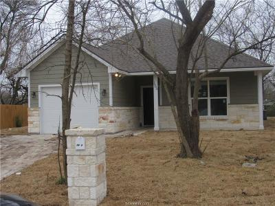 Bryan Single Family Home For Sale: 1903 Calvin Circle