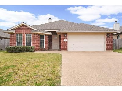 College Station Single Family Home For Sale: 3716 Dove Hollow Lane