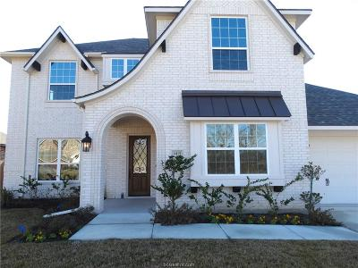 College Station Single Family Home For Sale: 4415 Uphor Court