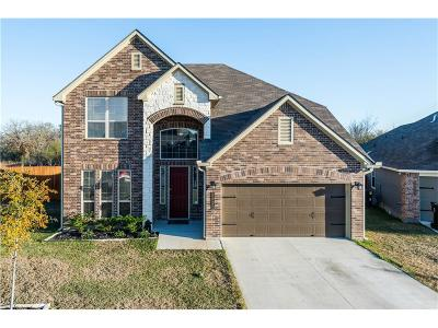 Bryan Single Family Home For Sale: 2023 Jester Trail