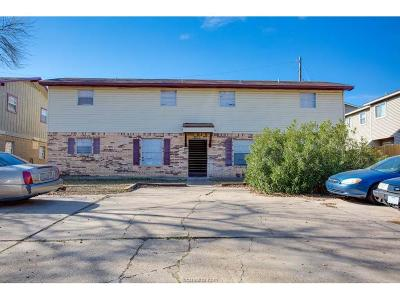 Brazos County Multi Family Home For Sale: 2400,2402,& 2411 Jaguar Drive