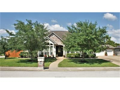 College Station Single Family Home For Sale: 5101 Piping Rock Court