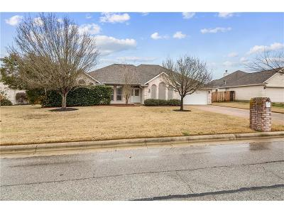 College Station Single Family Home For Sale: 3705 Bridle Trails Court