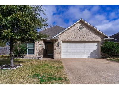 College Station Single Family Home For Sale: 217 Karten Lane