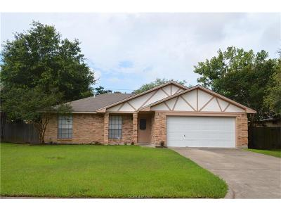 College Station Single Family Home For Sale: 3306 Dallis Drive