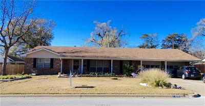 Bryan TX Single Family Home For Sale: $159,999