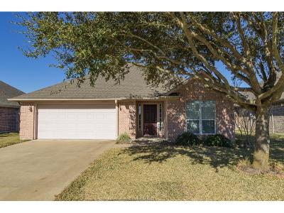 College Station Single Family Home For Sale: 1011 Orchid Street