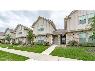 College Station Condo/Townhouse For Sale: 3625 Haverford Road