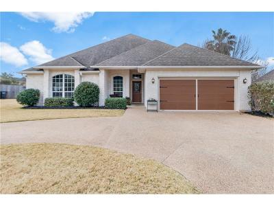 College Station Single Family Home For Sale: 4520 Lapis Court