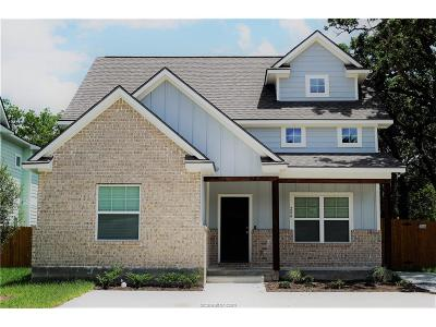 Bryan Single Family Home For Sale: 209 Tee