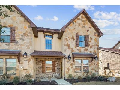 College Station Condo/Townhouse For Sale: 3316 Travis Cole