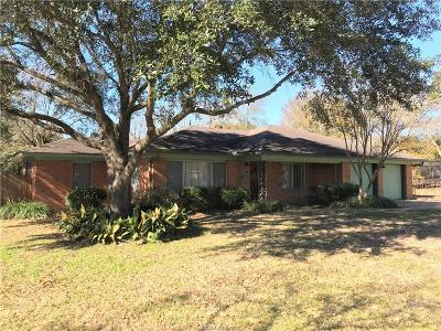 Grimes County Single Family Home For Sale: 319 N Post Oak