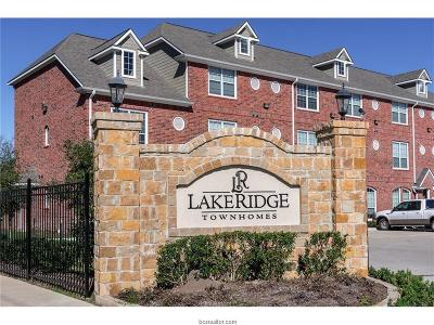 College Station Condo/Townhouse For Sale: 1198 Jones Butler Road #2802