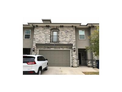 College Station Condo/Townhouse For Sale: 3313 Papa Bear