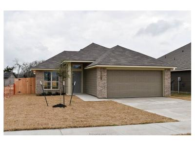 Bryan TX Single Family Home For Sale: $171,600
