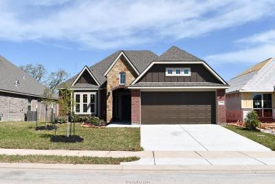 College Station Single Family Home For Sale: 4047 Dunlap Loop