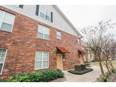 College Station Condo/Townhouse For Sale: 801 Luther Street #1403