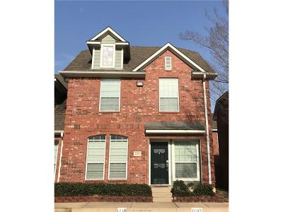 College Station TX Condo/Townhouse For Sale: $195,000