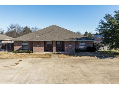 College Station Multi Family Home For Sale: 3613-3615 Glenna Court