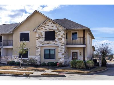 College Station Condo/Townhouse For Sale: 1413 Buena Vista