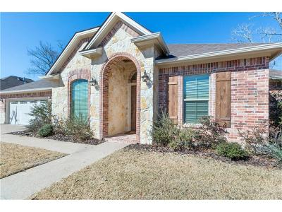 College Station Single Family Home For Sale: 1203 Ebbtide Cove