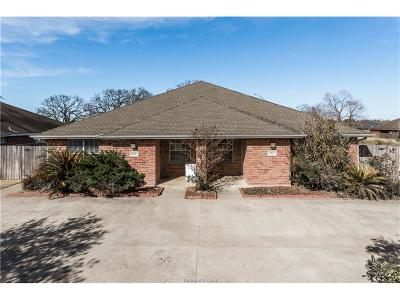 Brazos County Multi Family Home For Sale: 945-947 Willow Pond Street