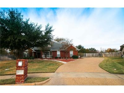 Bryan TX Single Family Home For Sale: $279,900