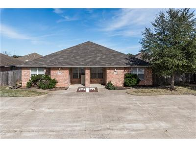 Brazos County Multi Family Home For Sale: 2313-2315 Pronghorn Lane