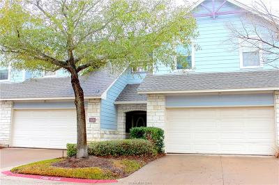 College Station TX Condo/Townhouse For Sale: $168,500