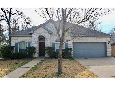 Burleson County Single Family Home For Sale: 505 Bent Oak Ct